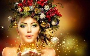 Какие макияж и прическу сделать на Новый год 2017?