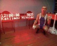 Красноярец подтягивался 12 часов без перерыва и установил мировой рекорд