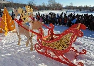 Шесть резиденций Деда Мороза в Челябинске и окрестностях