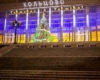 В Екатеринбурге показали уникальное световое шоу