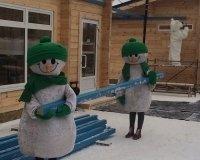 Ледяной комплекс «Сказбург» открылся в Ижевске около ТРЦ «Италмас»