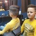 Детские стрижки для мальчиков в барбершопе Рабона