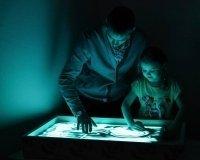 Мастер-класс «Зимняя песочная анимация» в Ижевске