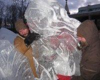 В Ижевске открылся ледовый фестиваль ангелов и архангелов