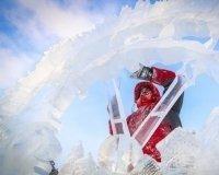 """В """"Татышев-парк"""" проходит финал конкурса снежных и ледовых скульптур"""