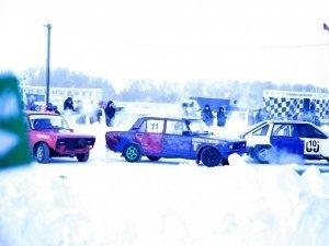 Зимние трековые гонки — фотоотчёт за 15 января