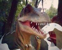Первые фигуры динозавров для белгородского динопарка прибудут в наш город уже в апреле.