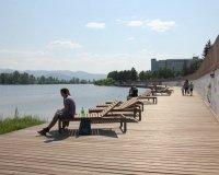 Красноярская набережная будет оформлена в едином архитектурном стиле