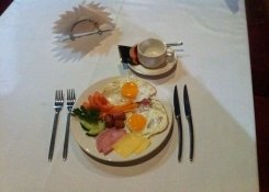 Завтраки в ресторане Сербия