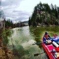Экстрим-сплав по реке Лемеза. Водный тур.