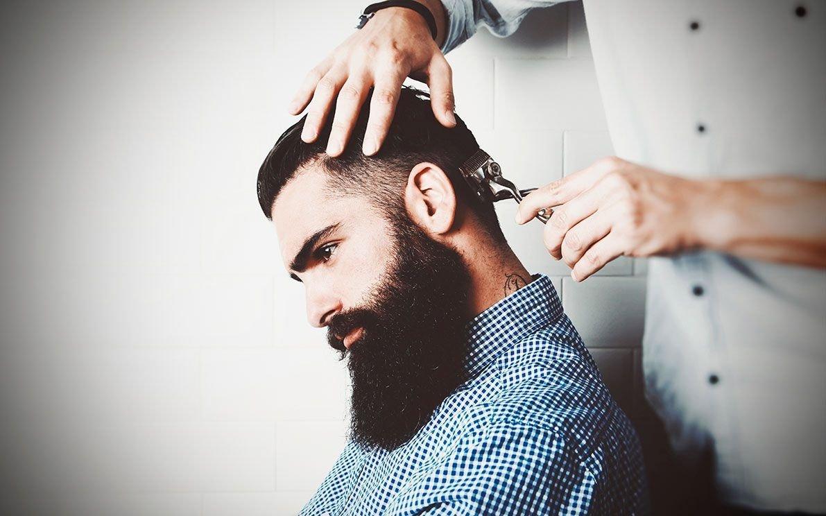 парикмахерская картинки мужчине рубленый бифштексом говядины