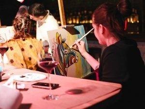 19.02.2017 Арт-вечеринка «Креатика» / Loft Bar