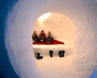 В Сургуте построят снежные избушки