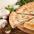 Зокоджин Пирог с грибами и сыром
