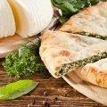 Цахараджинчиндзитима Пирог со шпинатом и сыром