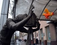 В центре Красноярска появился новый арт-объект