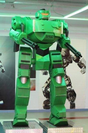 """В """"Галерее"""" можно посмотреть на роботов-великанов"""