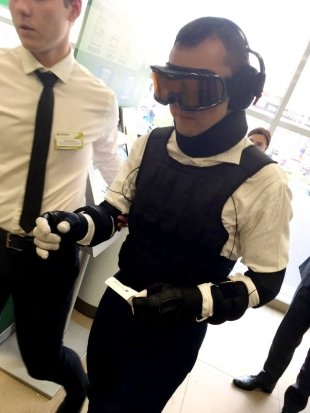 Сбербанк запустил тестирование специализированных костюмов GERT