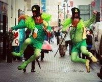 Отмечать День Святого Патрика тюменцев зовет «Байконур»