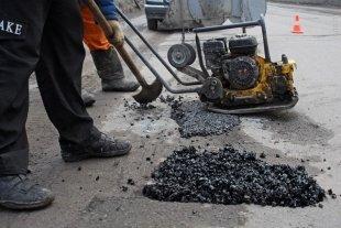 В Сургуте начался ямочный ремонт дорог