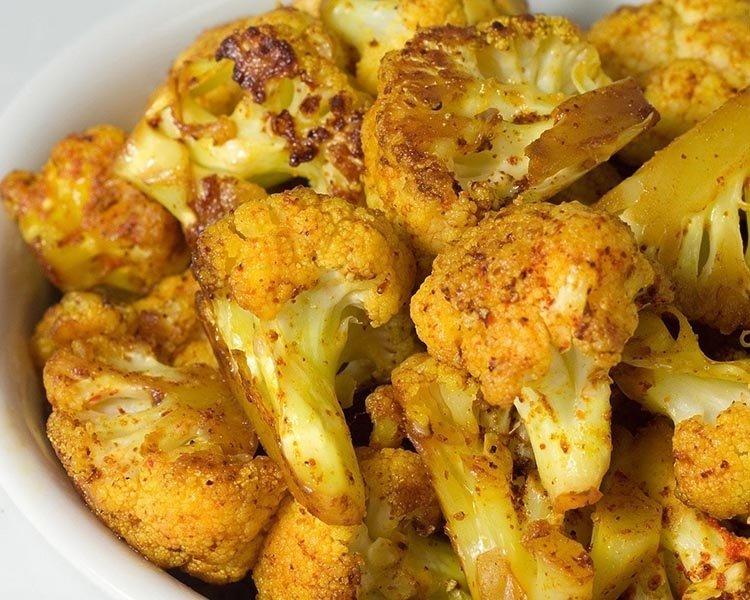 простые блюда из капусты цветной
