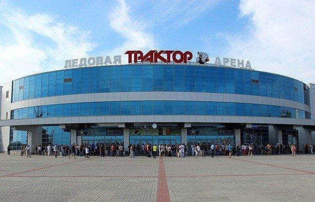 Фото ледовой арены «Трактор» Челябинск