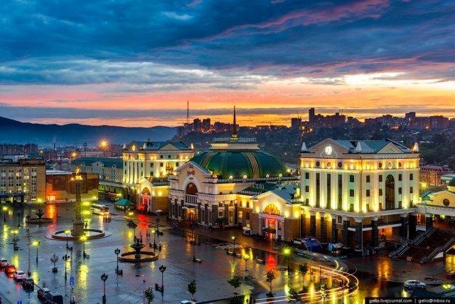 фотографии россия города красноярск