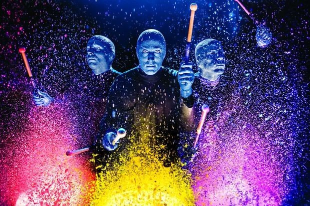 Казань вошла в гастрольный тур Blue Man Group