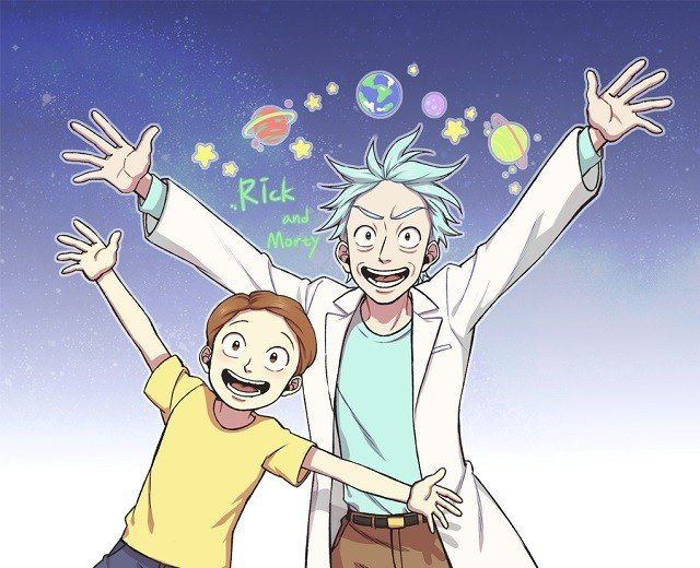 Новый тизер «Рика иМорти» сняли встиле аниме