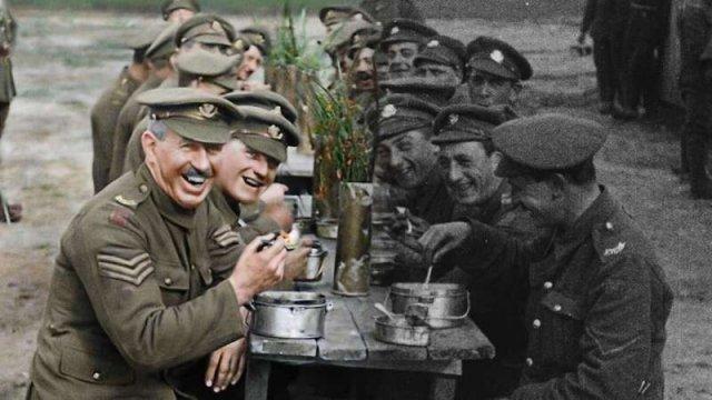 Питер Джексон раскрасил архивные видео Первой мировой войны