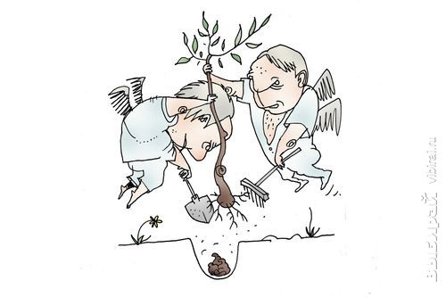 Смешные картинки посадка деревьев, новогодние открытки