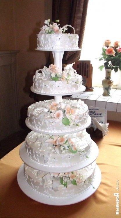 Свадебные торты торты на заказ от iris