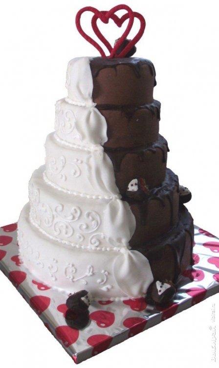 Свадебные торты компании птифур