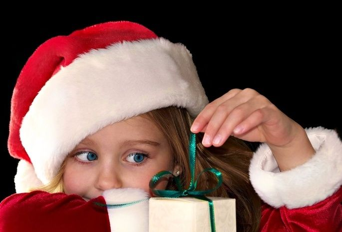 Радость ребенка на подарок 263