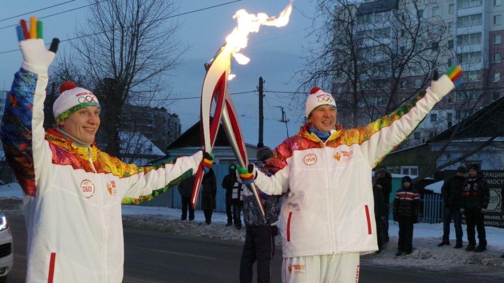 Олимпийский факел в пизде фото — 4