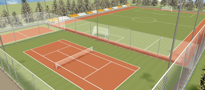 Как сделать теннисный корт цена