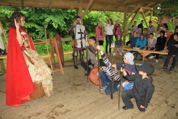 Сценарий рыцарского турнира в летнем лагере