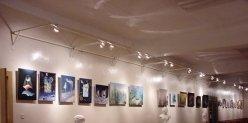 В выставочном зале Союза художников есть кофейня