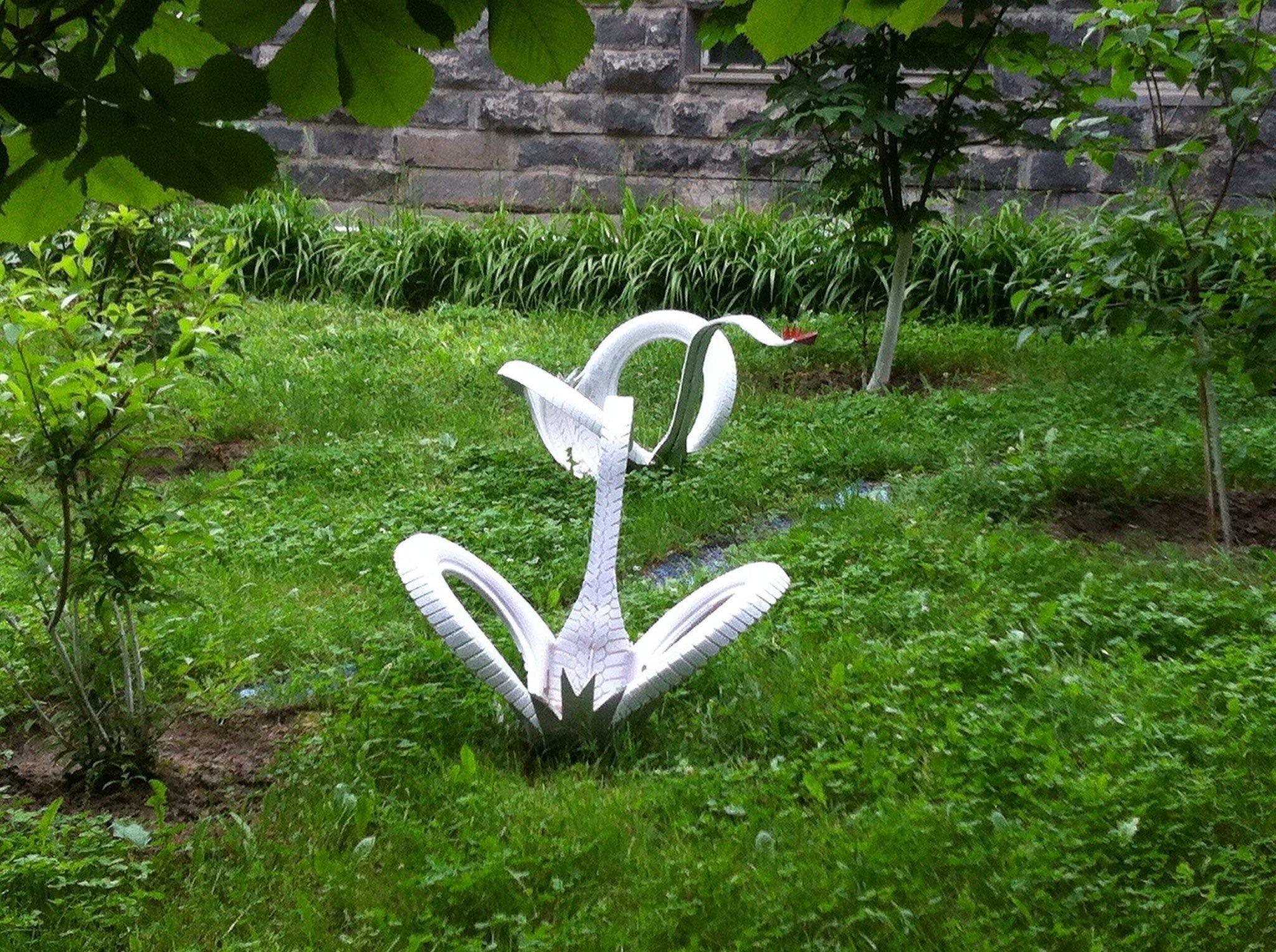 Кашпо лебедь своими руками Лебедь мастер класс 87