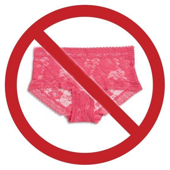 Кружевное белье запрещено белье женское пояс