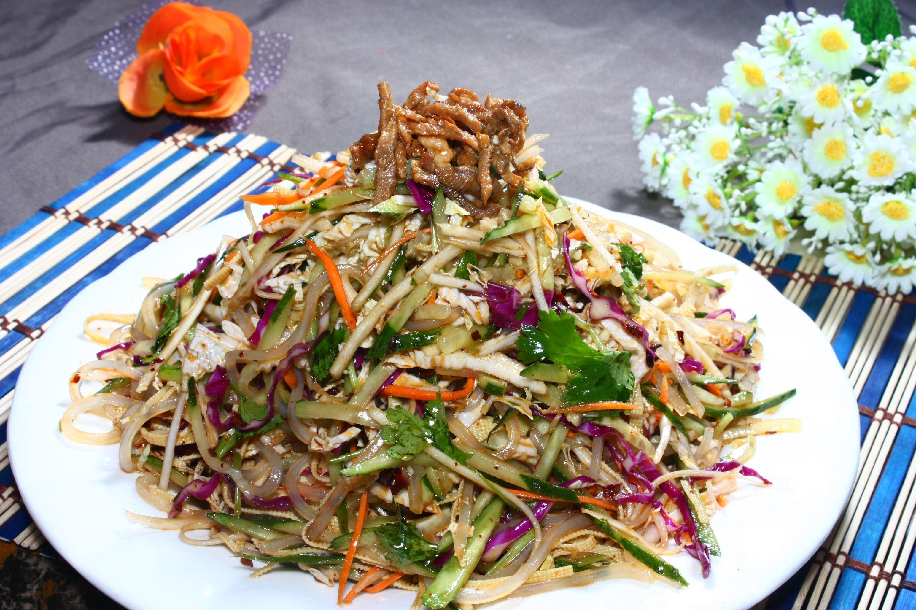 Салат домашний китайский рецепт с фото