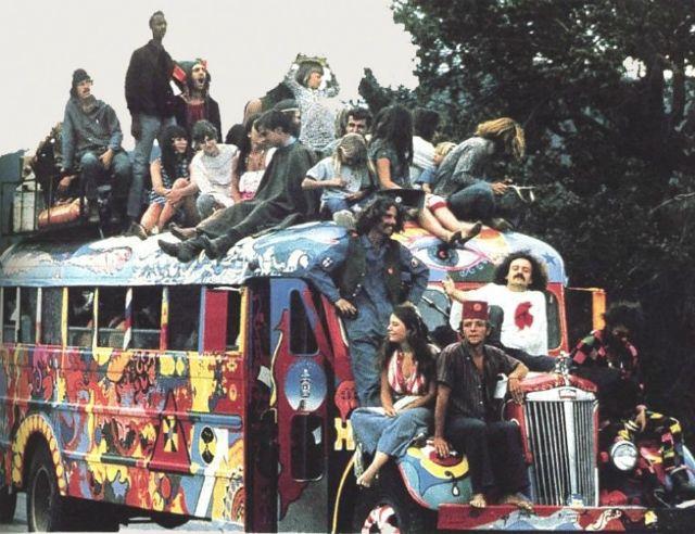 60s politics and woodstock