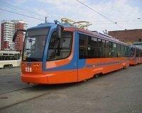 По Челябинску катается новый суперсовременный трамвай