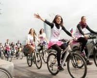 Те, кто хотят стать миллионерами, катаются на велосипеде!