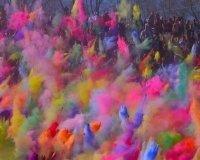 Фестиваль красок «Холи» пройдёт в эти выходные в Екатеринбурге