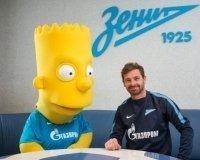 Новым талисманом «Зенита» стал Барт Симпсон