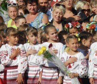 Гимн Украины в исполнении херсонских школьников занесут в Книгу рекордов Украины