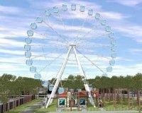 В парке им. Гагарина скоро начнется строительство нового высотного аттракциона
