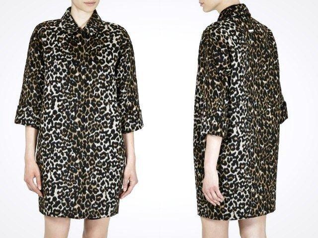 0c163a67df0 Леопардовой раскраски бояться тоже не нужно - дизайнерам Liu Jo удалось  создать пальто