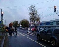 В Самаре на ул. Ново-Садовой возле «Мега Сити» установили светофор